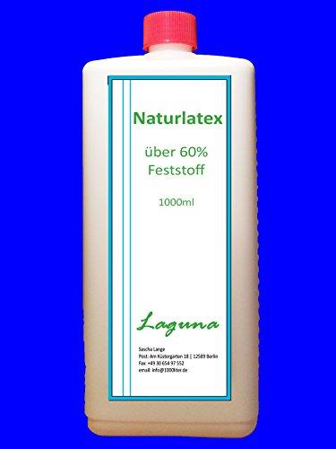 1 Liter Latexmilch, naturfarben, Naturgummi flüssig, Latex, Gummimilch, Sockenstopp, Halloween, Masken, Wunden, Bild