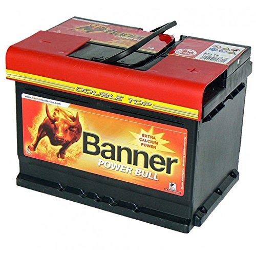 Autobatterie 62AH Banner Power Bull ersetzt 55Ah 60Ah 63Ah Bild
