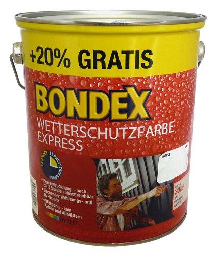Bondex Wetterschutzfarbe Express 3L (696 Sahara) [Misc.] Bild