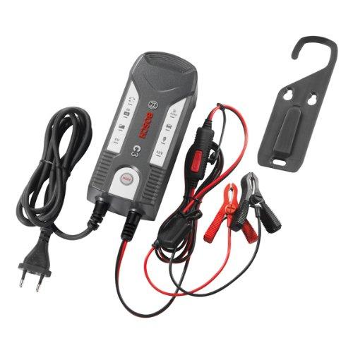 Bosch 018999903M Mikroprozessor-Batterieladegerät C3, für 6 V und 12 V, mit Erhaltungsladung Bild