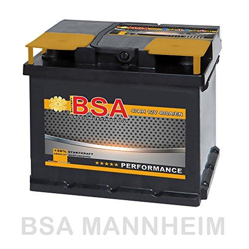 BSA Autobatterie 12V 47AH 400A/EN ersetzt 44Ah 45Ah 50Ah 46Ah 40Ah Bild