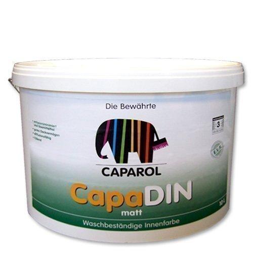 Caparol Wandfarbe CapaDin Innenfarbe 12,5 L weiß Bild