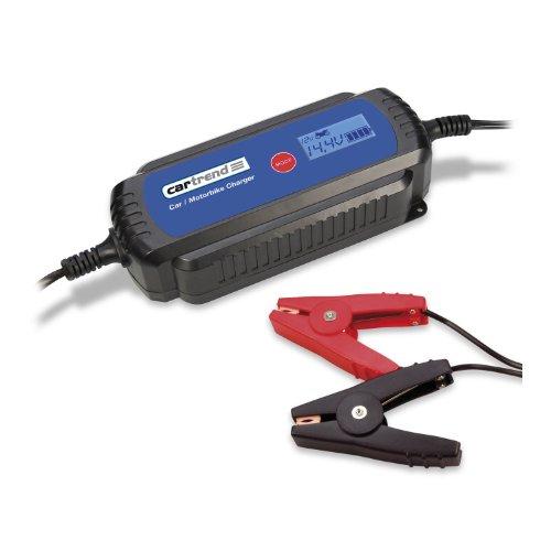 Cartrend 50245 Mikroprozessor-Batterieladegerät DP 3800 mit LCD-Anzeige für 1.2 bis 120 Ah Bild