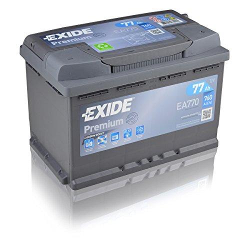 Exide Premium Carbon Boost EA770 77Ah Autobatterie (Neuestes Modell 2014/15) Bild