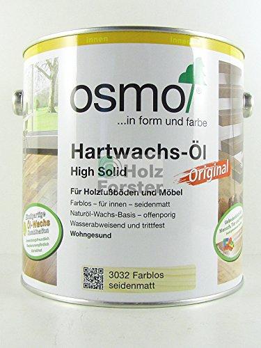 Hartwachs Öl farblos 3032 0,75 l seidenmatt Bild