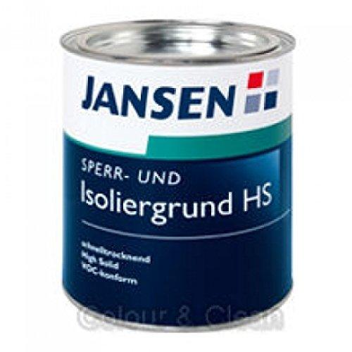 JANSEN Sperrgrund und Isoliergrund HS High Solid 750ml weiß Bild