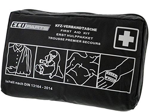 KFZ-Verbandtasche Schwarz DIN 13164-2014 Bild