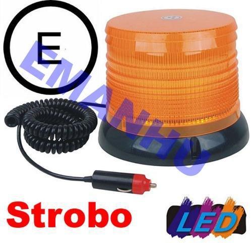 LED Blitzleuchte Pannenleuchte Strobo-Blinklicht + Rundumleuchte 2in1 Bild