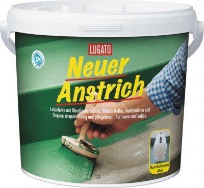 Lugato Neuer Anstrich 5 Liter platingrau Bild