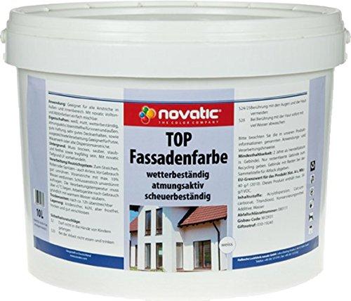 novatic TOP Fassadenfarbe, 5ltr Bild