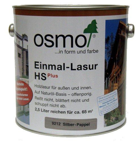 OSMO Einmal-Lasur HS Plus 2,5L Fichte Weiß 9211 Bild