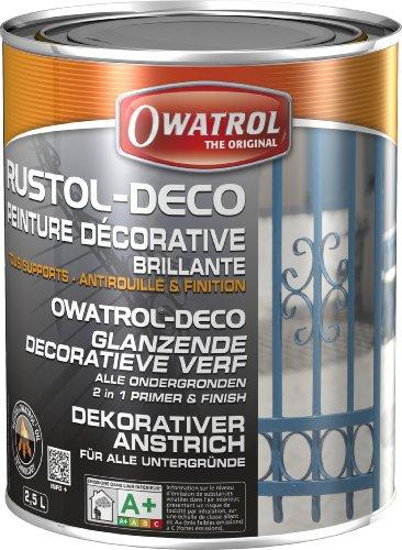 Owatrol Rustol-Deco-glänzend, 2,5 L, Grau Bild