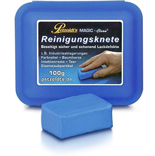 Petzoldts Profi-Reinigungsknete MAGIC-Clean, Blau, 100 Gramm Bild