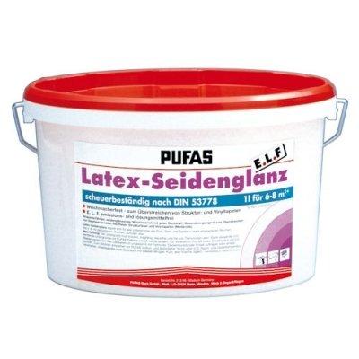 Pufas Latex-Seidenglanz E.L.F. 2,5L Latexfarbe seidenglänzend Bild