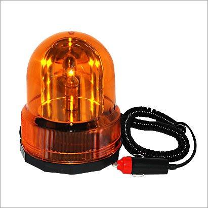 Rundumleuchte 12 V Orange mit Magnetfuß Bild