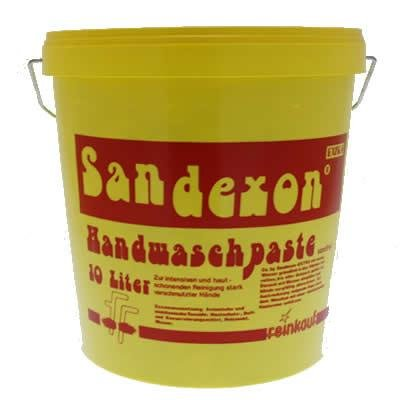SANDEXON Handwaschpaste Handseife Handreiniger Seife 10 Liter 3006 Bild