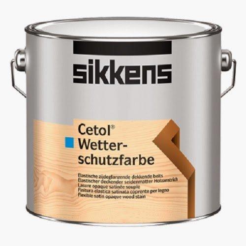 Sikkens Cetol Wetterschutzfarbe weiß 10 Liter Bild