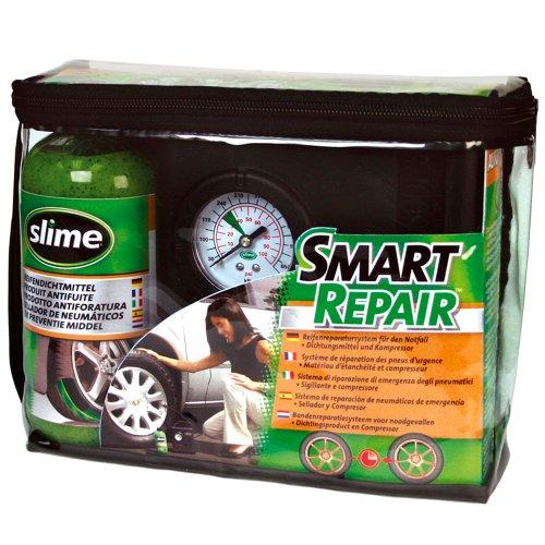 slime 10914 Reparaturset für PKW- Reifen inkl. Kompressor, 473 ml Bild