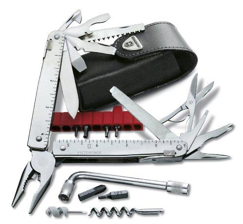 Victorinox Taschenmesser Swisstool CS Plus in Lederetui, One size, 3.0338.L Bild