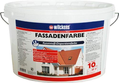 Wilckens Fassadenfarbe, 10 L, weiß 13391000110 Bild
