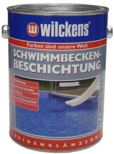 Wilckens Schwimmbecken Beschichtung, poolblau, 2,5 Liter 11651200080 [Werkzeug] Bild