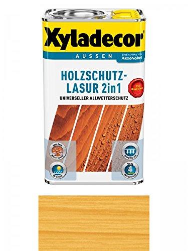 Xyladecor Holzschutzlasur 2in1 Aussen, 5 Liter, Farbton Kiefer Bild