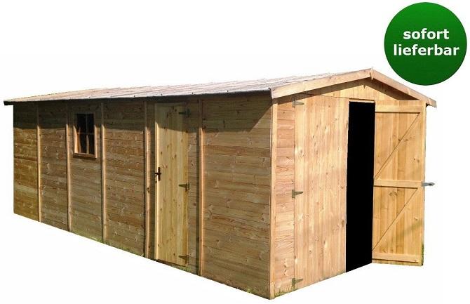 eine holzgarage selber bauen oder doch lieber kaufen wir. Black Bedroom Furniture Sets. Home Design Ideas