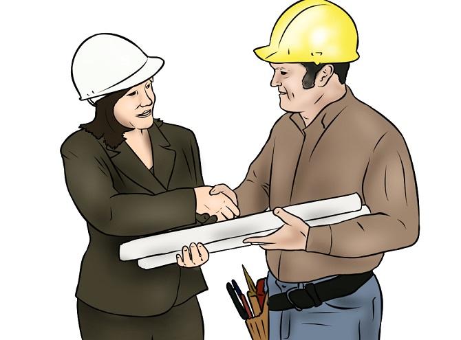Bauzeichnungen vom Garagenhersteller organisieren