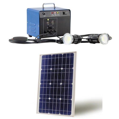 Das LED Solar Beleuchtungsset für den Carport bestellen