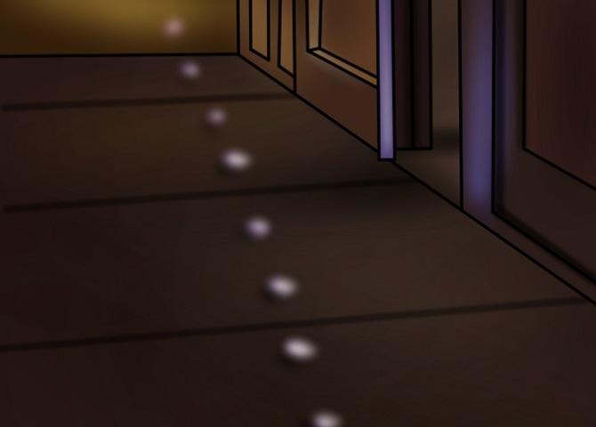 Einfahrt Beleuchtung