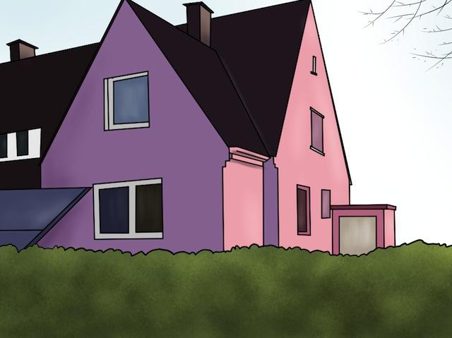 so streichst du dein haus ganz einfach selber. Black Bedroom Furniture Sets. Home Design Ideas