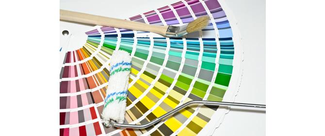 Latexfarbe - der Unterschied zwischen hochglänzend und matt