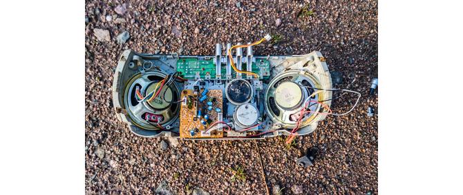 Baustellenradio Ex geschützt