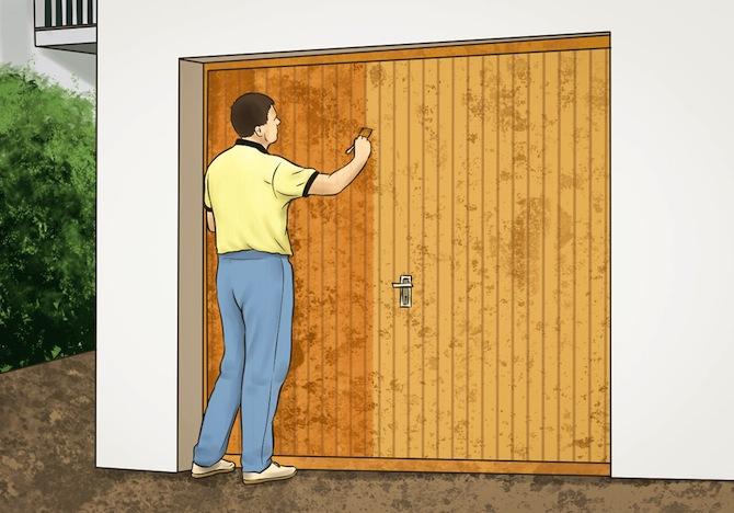 Garagentor Holz ▷ garagentore aus holz – preise, vorteile, nachteile und pflege