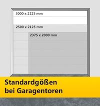 Garagentor Maße - Standardmaße und Spezialmaße im Überblick