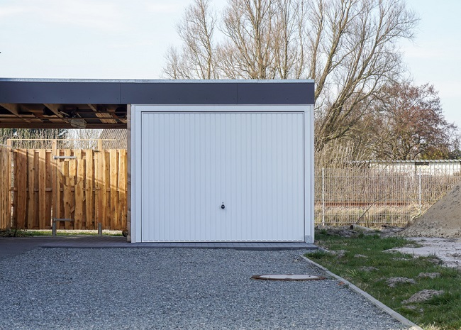 garage mit carport excellent garage car port garage. Black Bedroom Furniture Sets. Home Design Ideas