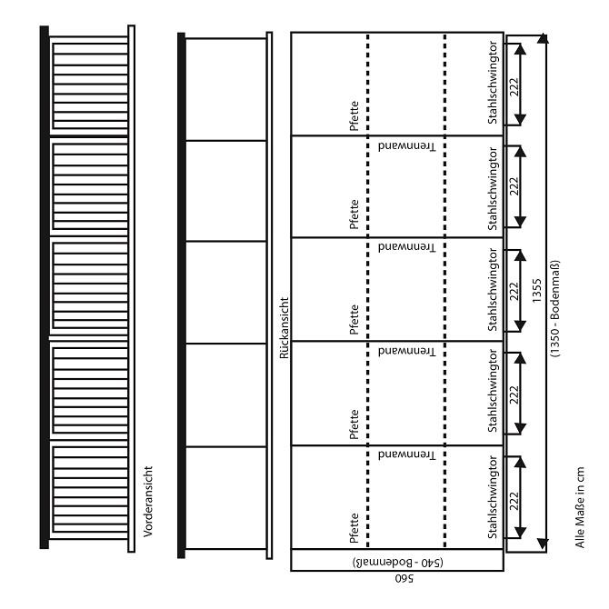 Fertiggarage grundriss  ▷ Grundrisse für Fertiggaragen: Wichtig für Bauherren