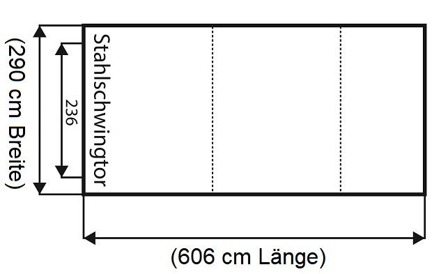 Häufig ▷ Doppelfertiggaragen: Maße, Preise, Infos mit Konfigurator JL38