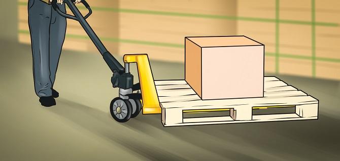 Handgabelhubwagen – Die Vor- und Nachteile gibt es