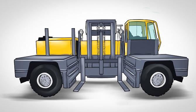 Aufbau und Funktionsweise des Seitenstaplers
