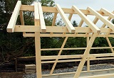 Holzfertiggaragen